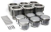 Satz AA-Kolben 84mm hoher Dom und Biralzylinder für 911 2,2l u. 2,4l