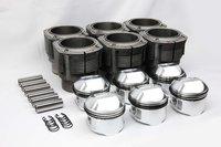 Satz JE-Kolben 84mm hoher Dom und Biralzylinder für 911 2,2l u. 2,4l