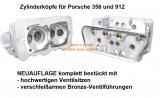 Zylinderköpfe für Porsche 356 und 912